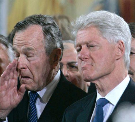 Baba Bush, Bill Clinton